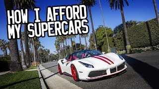 Video How I afford my supercars MP3, 3GP, MP4, WEBM, AVI, FLV Februari 2018