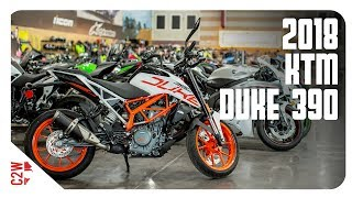 1. 2018 KTM Duke 390 | First Ride