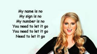 Meghan Trainor - No (Official Lyric Video) Video