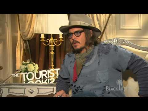 Johnny Depp (Film Actor) - BlackTree TV's Jamaal Finkley sits down with the 1 and only Johnny Depp to discuss his new movie The Tourist. We talk about him meeting Angelina Jolie and hi...