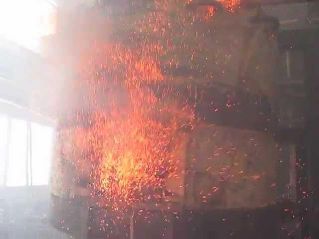 Сжигание помета