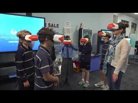 ClassVR at the Marine Discovery Centre, Australia
