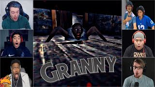 Video Gamers Reactions to the Granny JUMPSCARE | Granny MP3, 3GP, MP4, WEBM, AVI, FLV Mei 2019