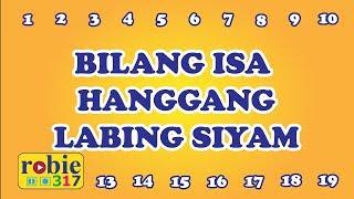 Bilang Isa Hanggang Labing Siyam | Tagalog Number Song | Awiting Pambata