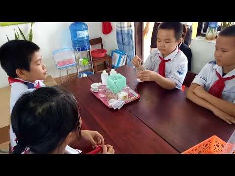 """Chuyên đề: Dạy học theo phương pháp """" Bàn tay nặn bột"""" do cô giáo Lê Thị Thu Hiền thực hiện."""