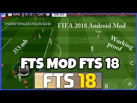 FIFA 18 MOD APK+OBB FOR ANDROID/IOS  [FTS 18] How To DOWNLOAD FOR ANDROID/IOS