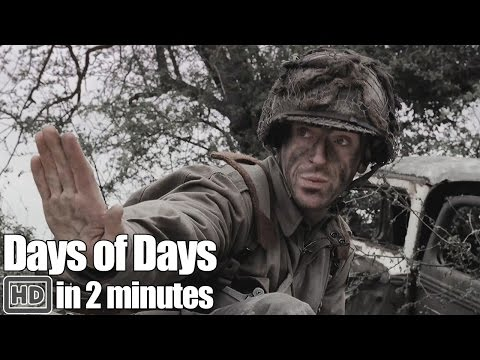 Band of Brothers In 2 Minutes - Part 2 Day of Days
