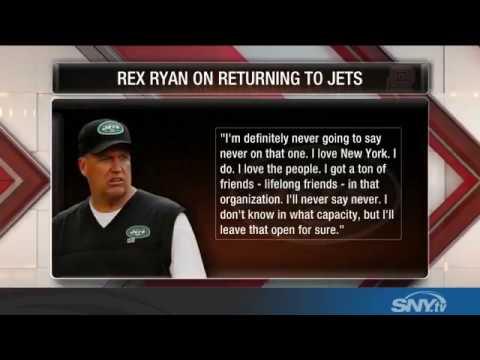 Video: Rex Ryan on return to New York Jets: