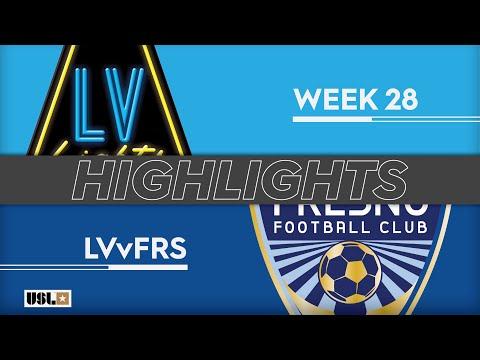 Las Vegas Lights - Fresno 3:1. Видеообзор матча 15.09.2019. Видео голов и опасных моментов игры