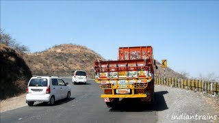 Satara India  city pictures gallery : india tour@expressway-driving in the mountains on mumbai-pune-satara express highway - maharashtra