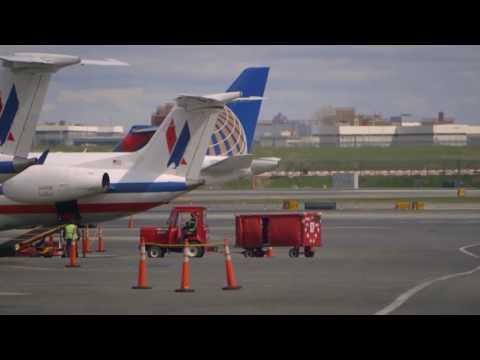 뉴욕 라과디아 공항 재개발 착수  6.3.16  KBS America News