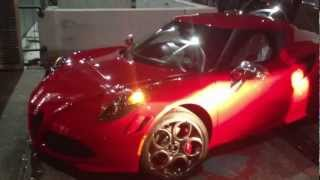 Alfa Romeo 4C - Street Video