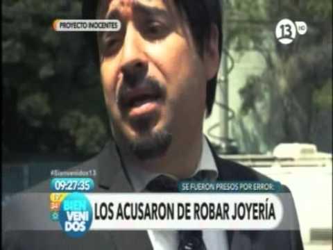 "Programa de canal 13 ""Proyecto Inocentes, encarcelados por error"" febrero."