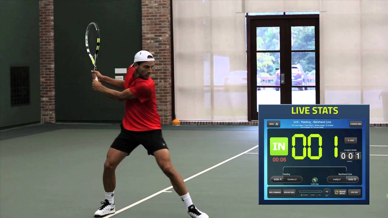 PlaySight's Tennis Tips: Improve Your Backhand