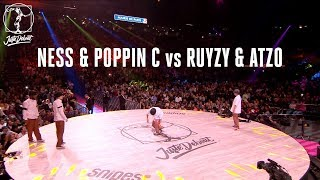 Ness & Poppin C vs Ruyzy & Atzo – Juste Debout 2018 Popping EIGHTH FINAL