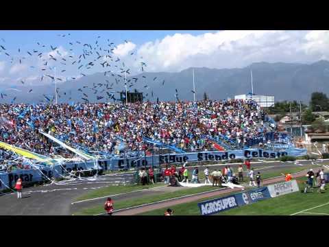 Video - O'Higgins vs. Zorras Colocolinas - Trinchera Celeste - O'Higgins - Chile