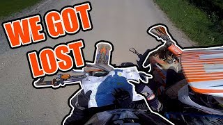 9. Lost on the Trails! | Rock Run | KTM 450-EXC Red Bull Champions Edition
