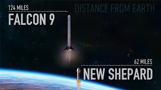 Reusable Rocket - Spacex Vs. Blue Origin