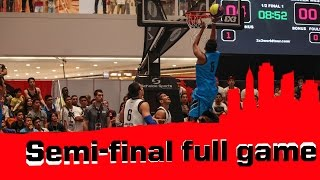 Watch the complete semi-final of the Manila Masters between Jakarta (INA) and Manila West (PHI). The 2014 FIBA 3x3 World Tour kicked off in the Philippines ...