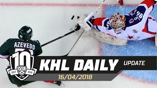 Daily KHL Update - April 16th, 2018 (English)