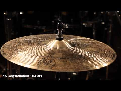 Supernatural Cymbals 15 Constellation Hi-Hats