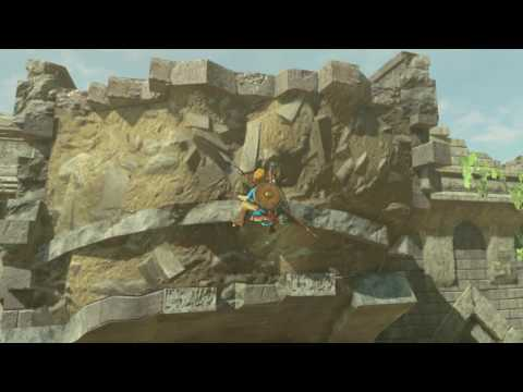 Nintendo Breath Of The Wild Gameplay