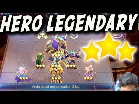 COMBO 7 HERO LEGENDARY FULL BINTANG 3 ! GAK BUTUH SINERGY , HERO LEGEND INI BOSS !!!