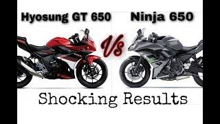 10. Kawasaki Ninja 650 vs Hyosung GT 650 | Comparison | Opinion |