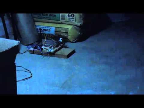 Trampa para ratas electrica