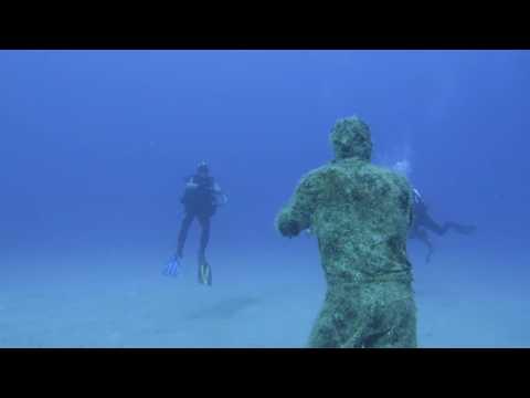 Zo ziet het eerste onderwatermuseum van Europa eruit