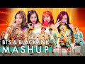 Download Lagu BTS & BLACKPINK – Idol /Fire /Forever Young /As If It's Your Last (ft. Not Today & Boombayah) MASHUP Mp3 Free