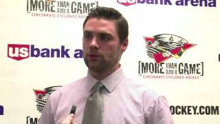 Cyclones Assistant Coach Matt Macdonald's Pregame Comments - 12/7/12