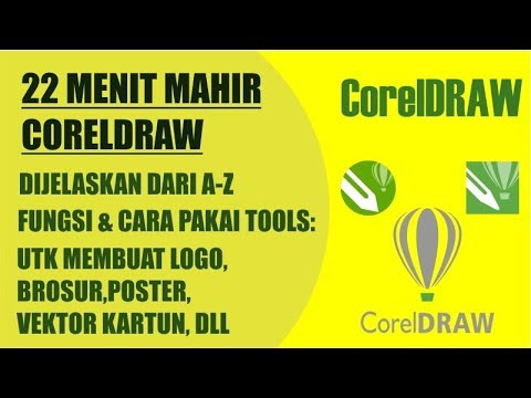 Belajar Coreldraw | Tutorial Corel Draw X7 Bahasa Indonesia