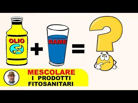 Miscibilità prodotti fitosanitari
