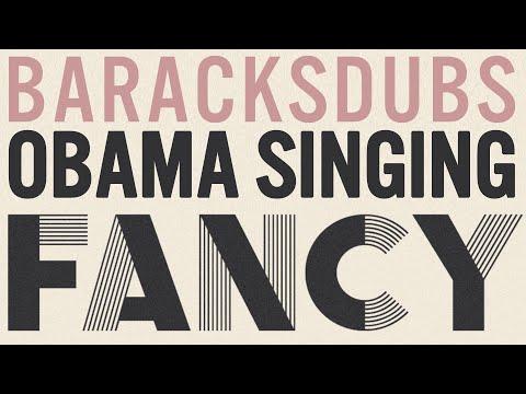 Barack Sings Fancy