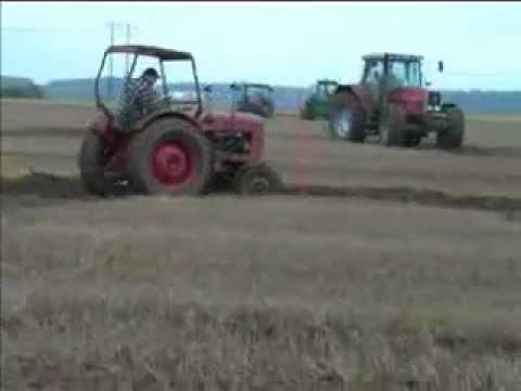 a traktor hastighet