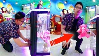 Video Cara Curang Menang di Mesin Capit Boneka!! Dapat Terus!!! MP3, 3GP, MP4, WEBM, AVI, FLV November 2017