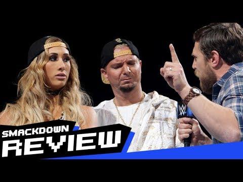 REVIEW-A-SMACKDOWN 6/20/17: Carmella Stripped of MITB Briefcase, Daniel Bryan Returns