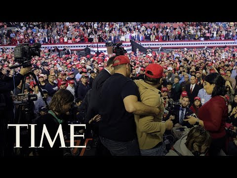 BBC Cameraman Attacked By Trump Supporter At Rally In Texas | TIME