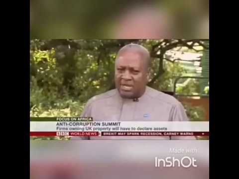 BBC's Peter Okwoche asked President Of Ghana directly if he has taken bribe?Watch!!!!