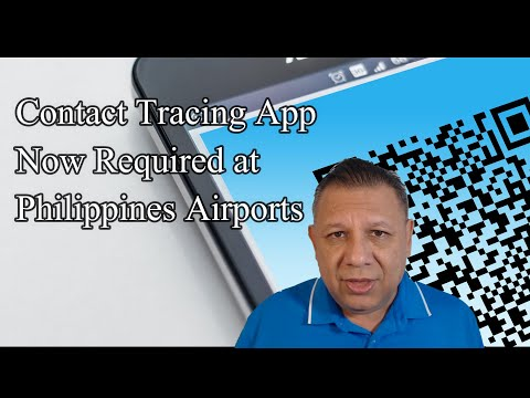 QR Contact Tracing App Now Required At Philippines Airports