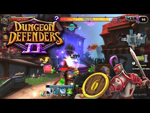 геймплей Dungeon Defenders 2