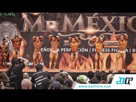 Comparaciones y ganadores de las categorías de fisicoculturismo hasta 65, 70, 75 y 80 kg de este Mr. México 2017