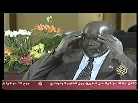 Dr Garang in Aljazera 11Oct2004 part two