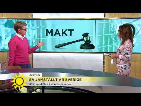 Så jämställt är Sverige - i siffror - Nyhetsmorgon (TV4)
