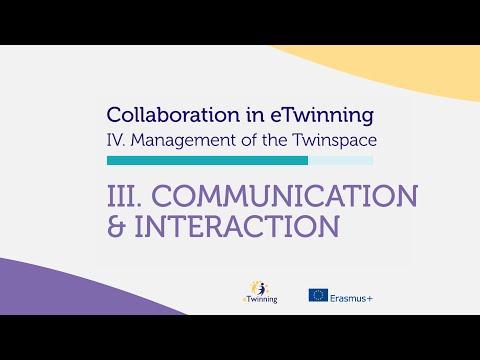 Self Teaching Materials - Communication & Interaction