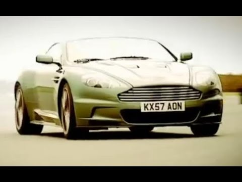 DBS - Jeremy test drives the flashy Aston Martin DBS, before the Stig takes it out for a spin round the track. Subscribe for more awesome Top Gear videos: http://w...