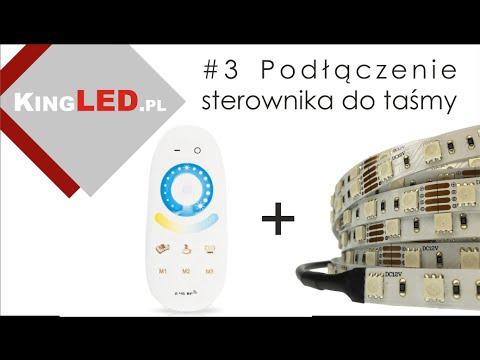 Jak podłączyć sterownik do taśmy LED #3 _ Poradnik od KINGLED_pl