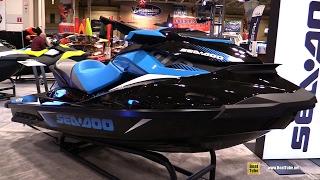 8. 2017 Sea Doo GTR 230 Jet Ski - Walkaround - 2017 Toronto Boat Show