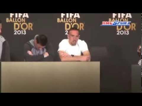 Ballon d'Or / Ribéry :